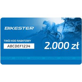 Bikester Karta upominkowa, 2000 zł